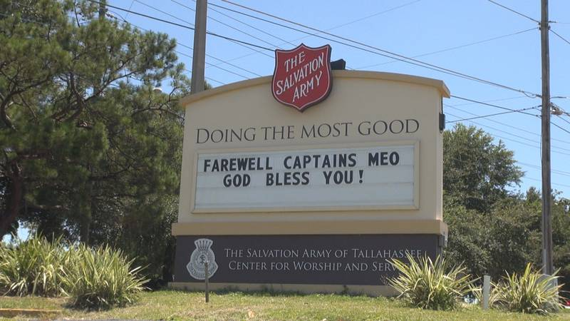 After five years of service, the Salvation Army is transferring Captain's Ryan and Amber Meo,...