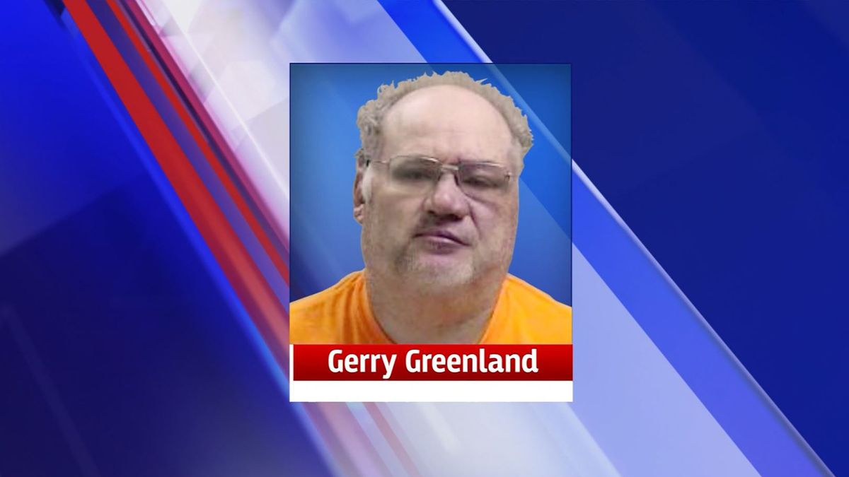 Gerry Greenland, 54, was taken into custody after allegedly striking a sheriff's vehicle with a bale spear connected to his tractor. (Source: WHO/Iowa DPS/CNN)