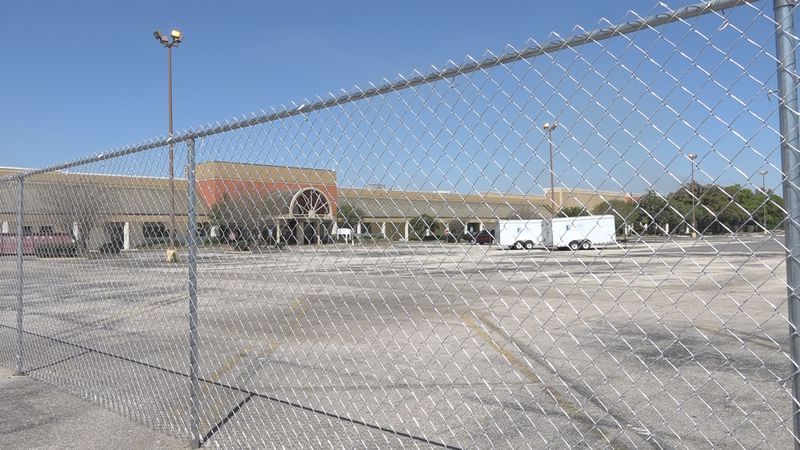 The City of Tallahassee has put up a fence and is preparing for demolition of part of the...