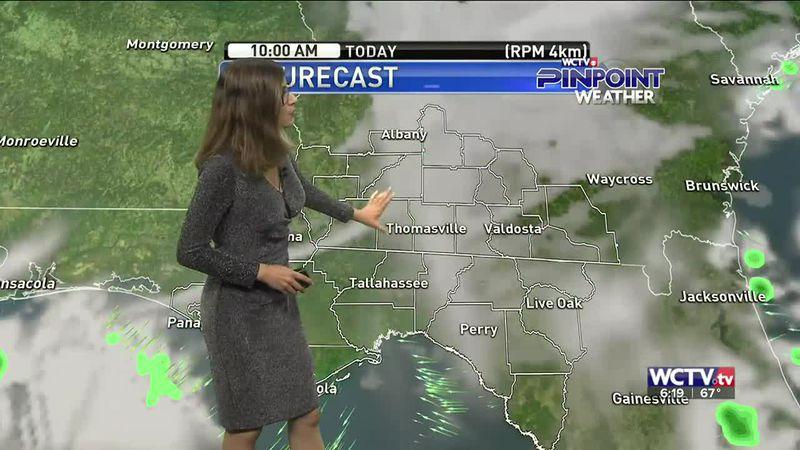 Hannah's Thursday morning forecast