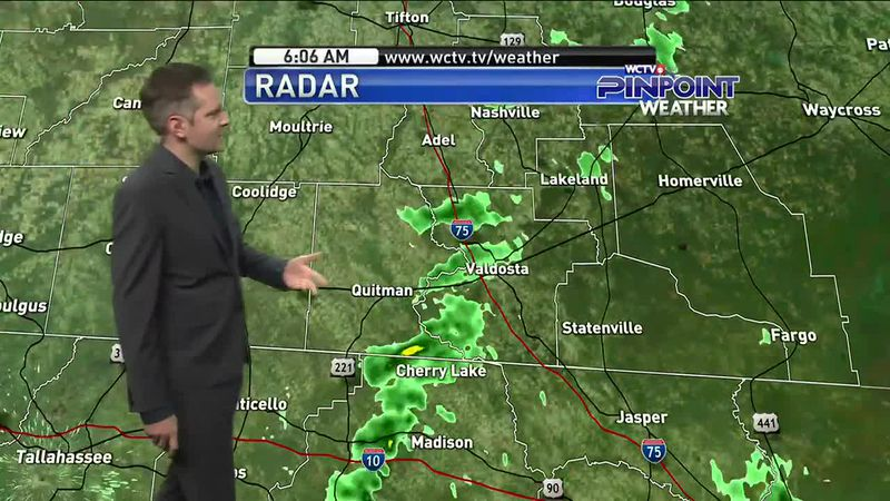 Morning showers will lead to cooler and drier conditions in the afternoon. Meteorologist...