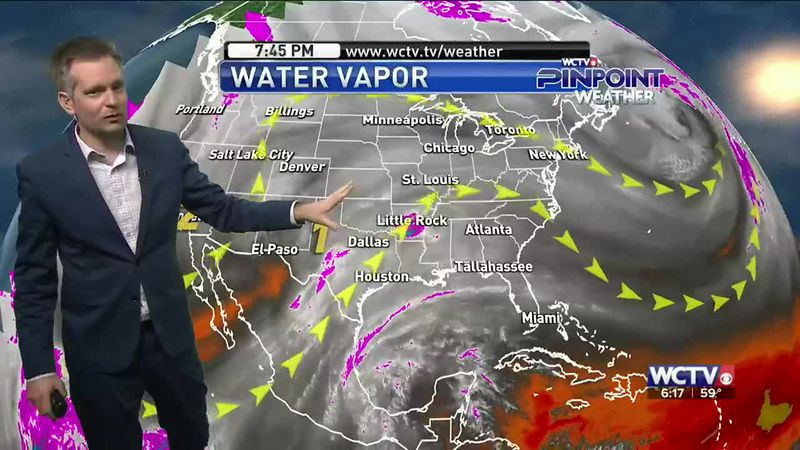 Clouds and warm temperatures started the work week, but when will winter return? Meteorologist...