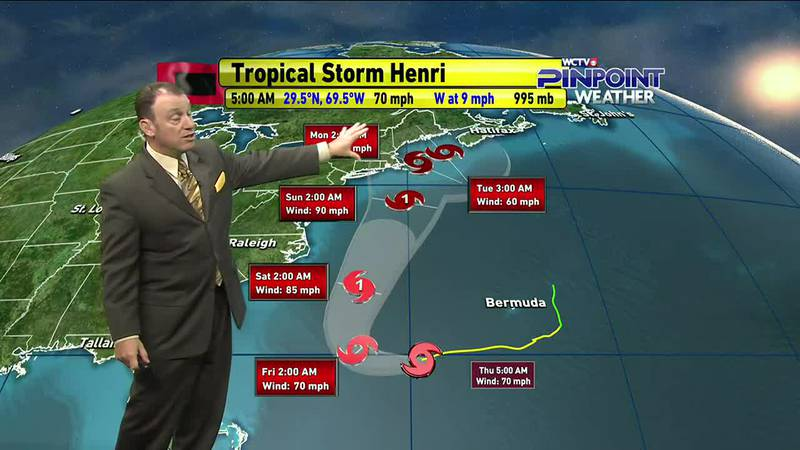 Meteorologist Rob Nucatola gives you the forecast for Thursday, August 19, 2021.