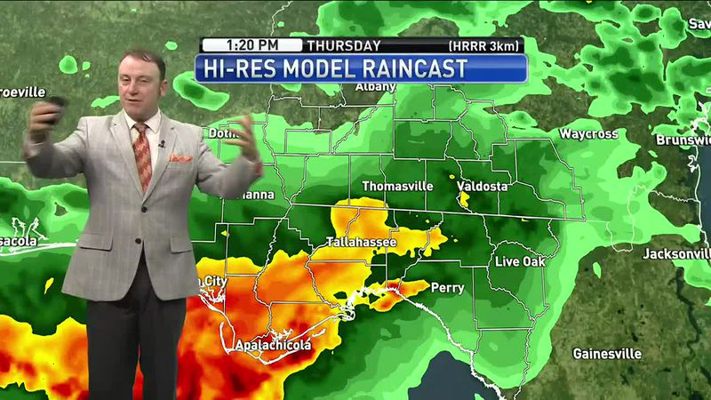 Meteorologist Rob Nucatola gives you the forecast for Thursday, April 15, 2021.
