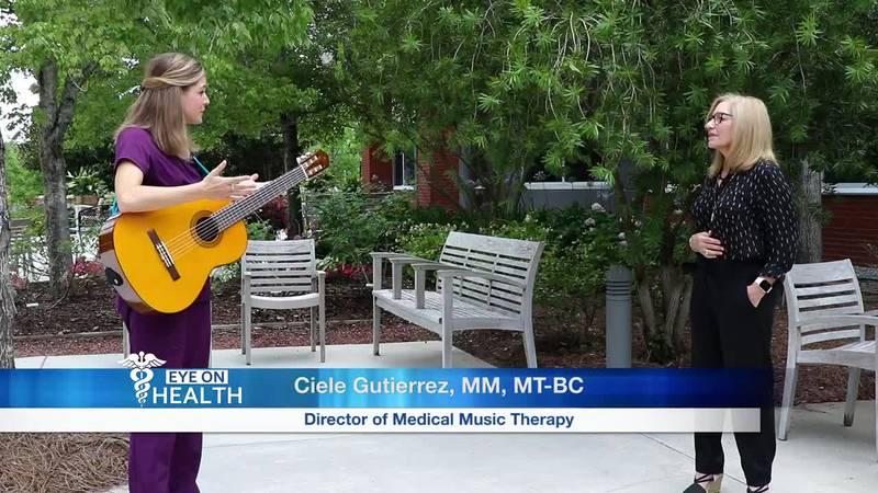 Ciele Gutierrez, Music Therapy