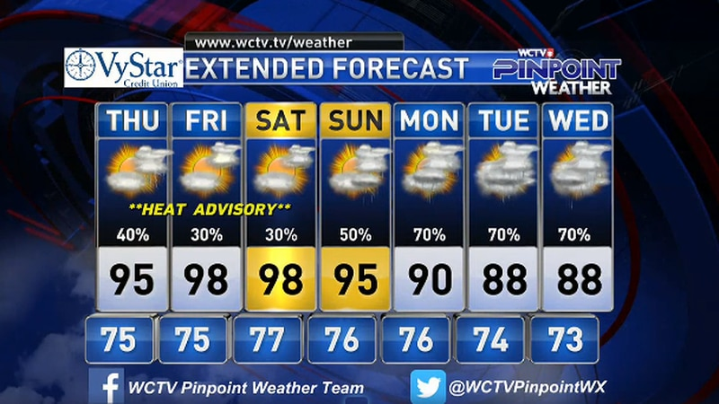 Chief Meteorologist Mike McCall takes a look at the forecast for your evening of Tuesday, July...