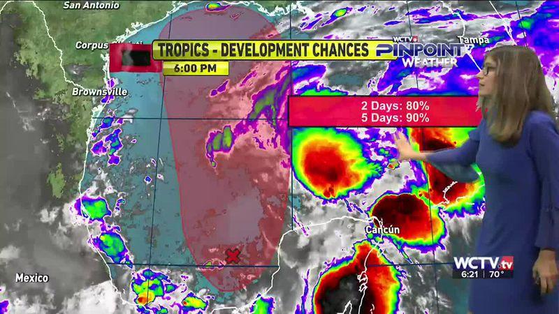 Meteorologist Hannah Messier gives you the forecast for Thursday, June 17, 2021.