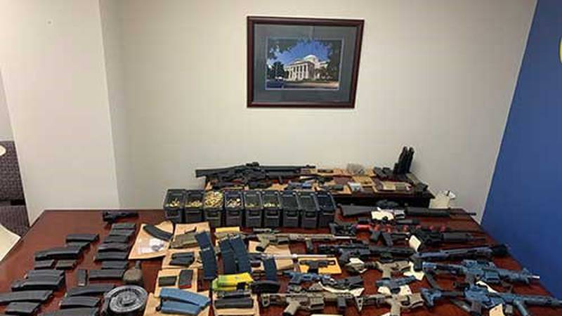 The Tallahassee Police Department said it arrested a man and seized 17 guns following a...