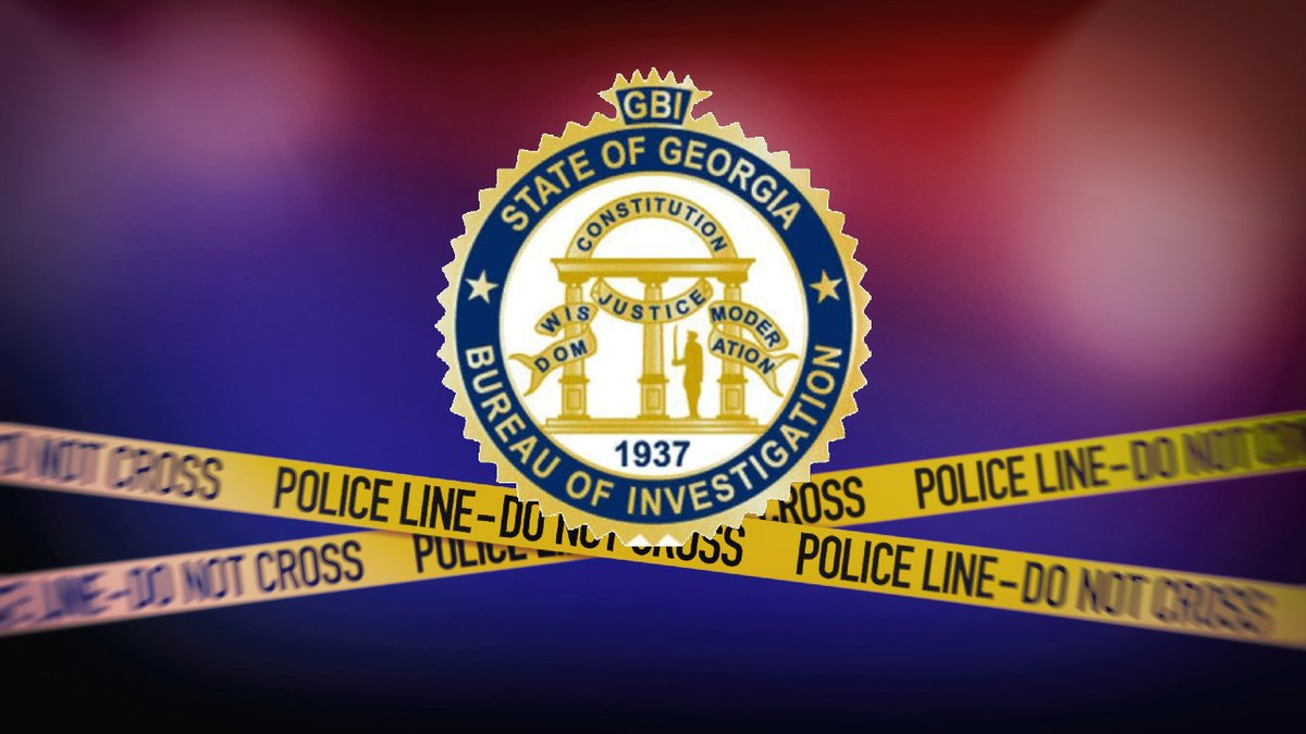 Georgia Bureau of Investigation (GBI) logo and crime scene tape
