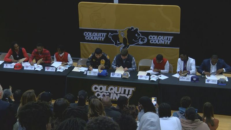Colquitt County High School had a busy morning on National Signing Day, as the Packers...