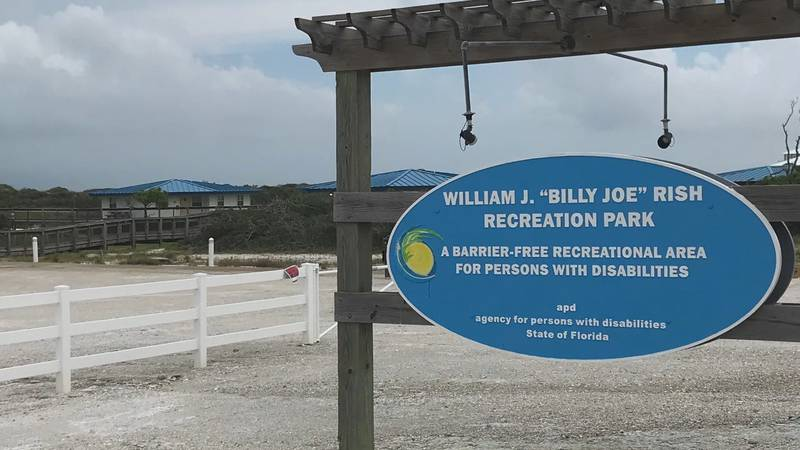 Rish Park is located on Cape San Blas, on the Panhandle coast. The beachfront park is the...