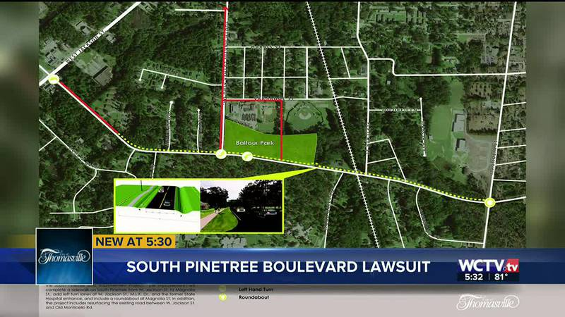 The legal fight continues in Thomasville as city council members have voted 'no' on accepting a...