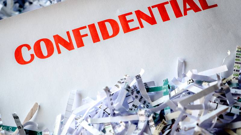 Residents can bring any personally sensitive paper-based documents and records to be shredded...