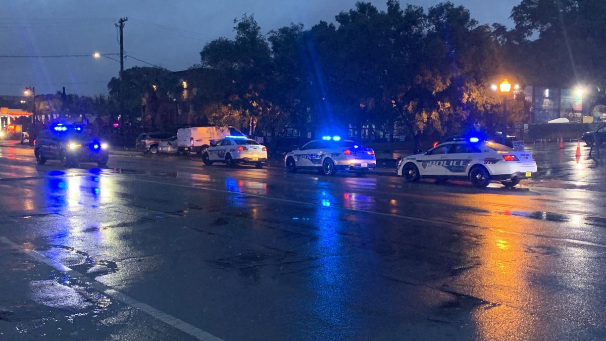 TPD cars outside of a Tallahassee night club investigating a shooting that sent one to the...