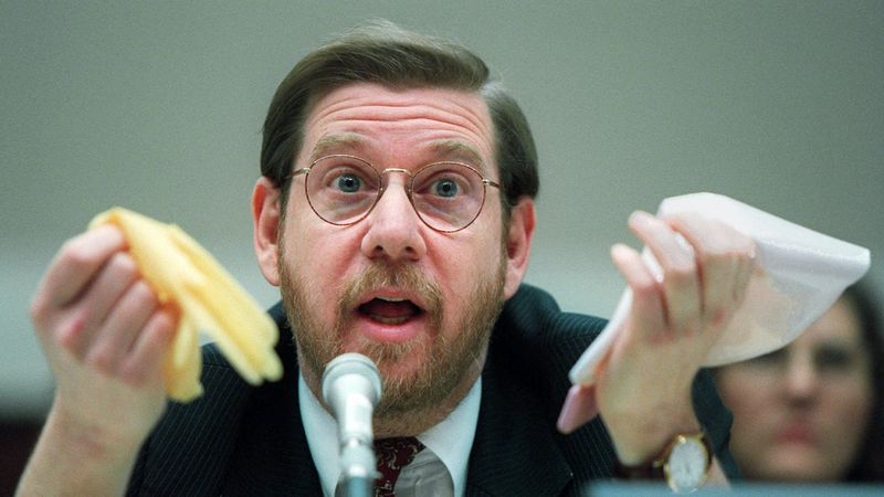 FILE - This Nov. 15, 1995 file photo shows then Food and Drug Administration (FDA)...