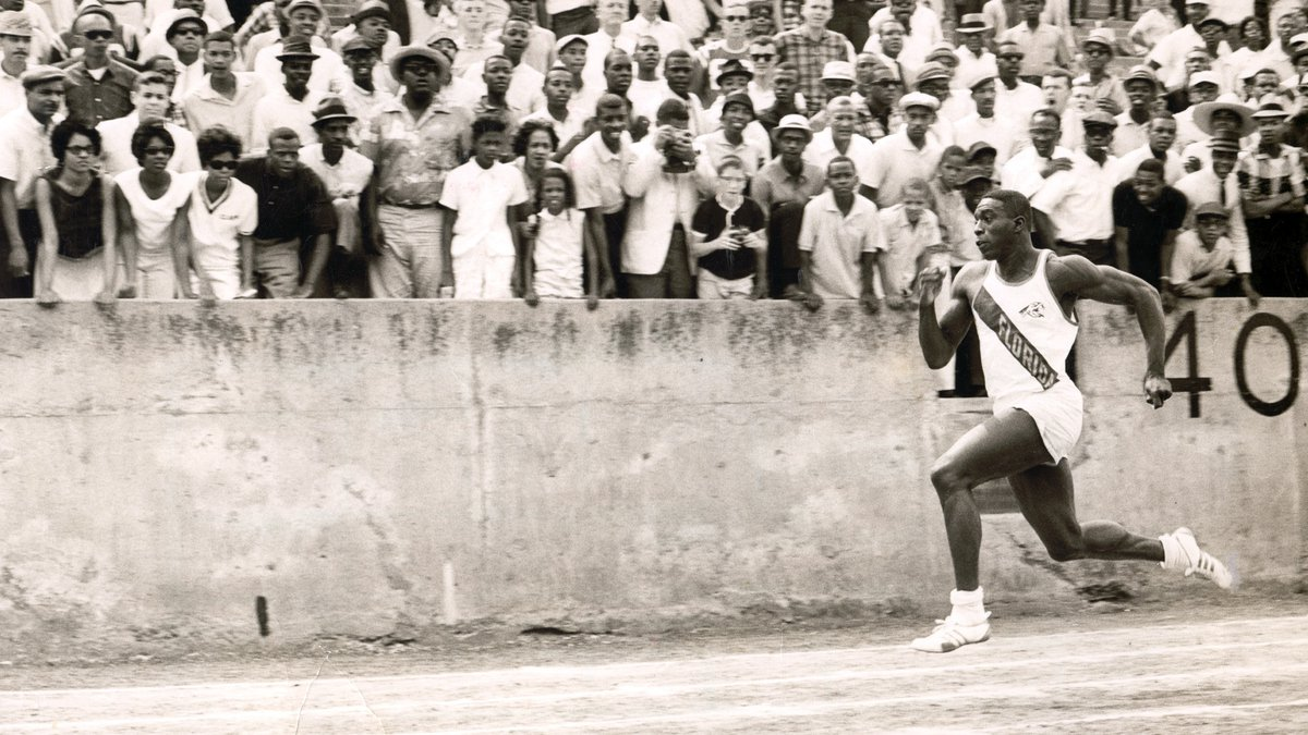 """""""Bullet Bob"""" competed in the 1964 Olympics in Tokyo, where he earned two gold medals."""