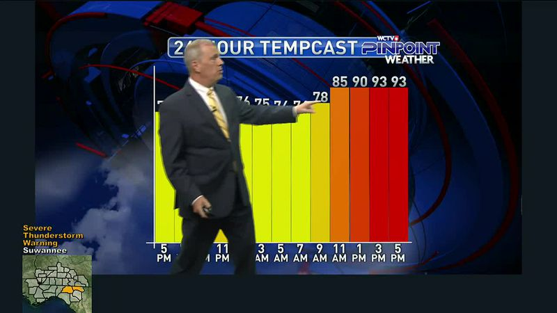 Chief Meteorologist Mike McCall gives you the forecast for Tuesday, June 15, 2021.