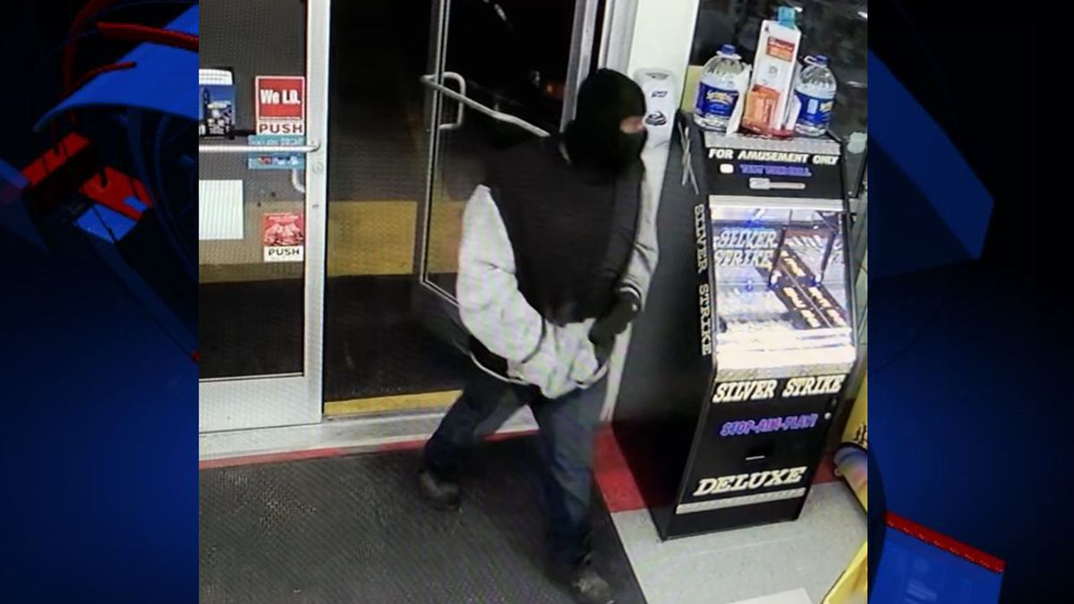 Investigators say the man walked into the the Kmee Convenience Store near Highway 231 in Campbellton at about 11 p.m. Wednesday.