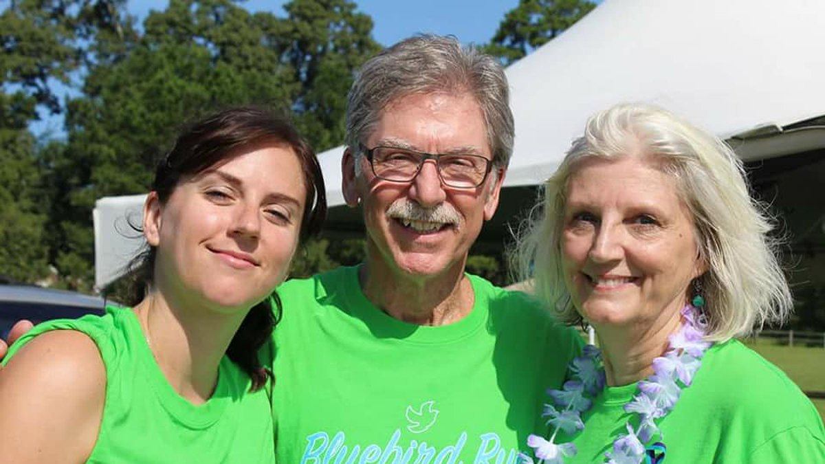 """Bill and Mary Bowers host the """"Bluebird Run for Brookie B"""" every Labor Day in..."""