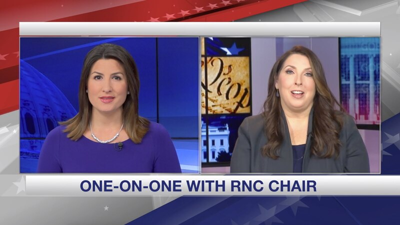 Gray Television Washington Bureau Chief Jacqueline Policastro speaks with Republican National...