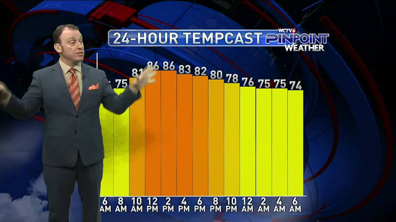 Meteorologist Rob Nucatola gives you the forecast for Monday, July 19, 2021.