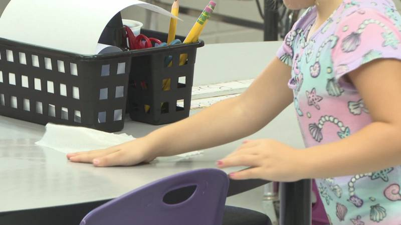 Suwannee County Schools welcomed students in the building for the first day since last spring...