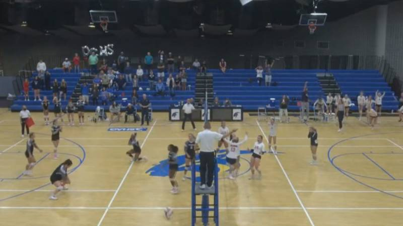 The Valwood Valiants have won the 2021 GISA volleyball state title game.