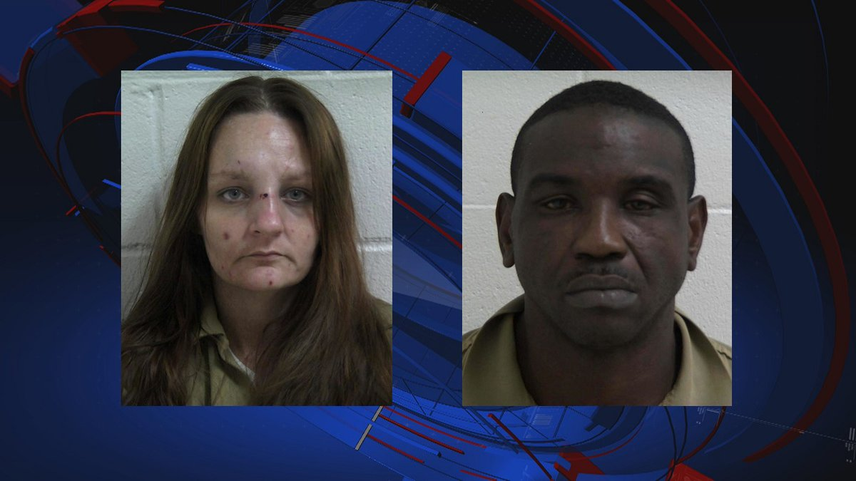 Bainbridge Public Safety said it arrested one man and one woman following a drug bust Tuesday.