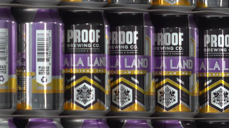 Proof is the first brewing company in the Sunshine State to recapture carbon dioxide, or CO2,...