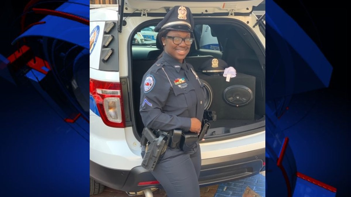 Jamica Thomas, 27, is the Thomasville Police Department's first ever female SWAT team member.