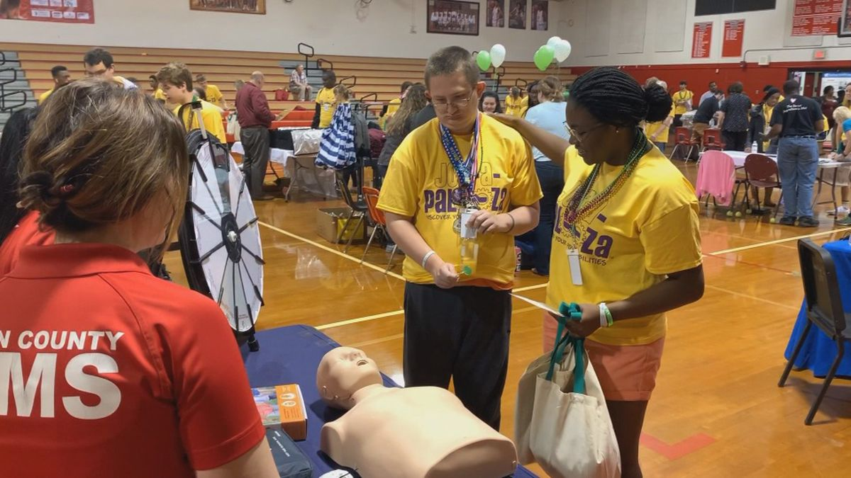 The teens got a chance to meet dozens of employers and learn about job opportunities in a quite unusual way.