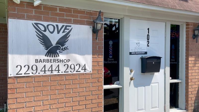 Dove Barbershop hosts vaccine popup.