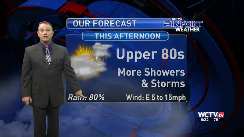 Meteorologist Rob Nucatola gives you the forecast for Wednesday, August 25, 2021.