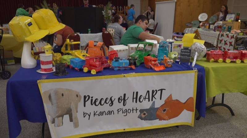 A Wakulla County native is creating 3D paper art as a way to express himself, while also...