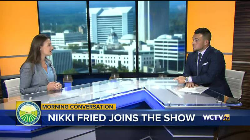 WCTV's Michael Hudak sat down with Fried in the latest edition of the Morning Conversation.