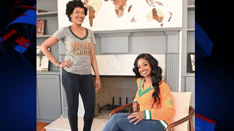 Fearless Fund co-founders, Ayana Parson (standing) and Arian Simone (seated)
