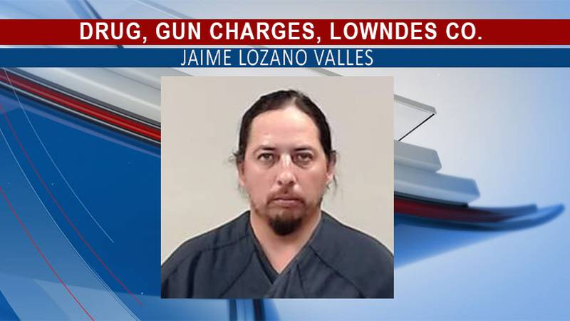 Valles is in the Lowndes County Jail.