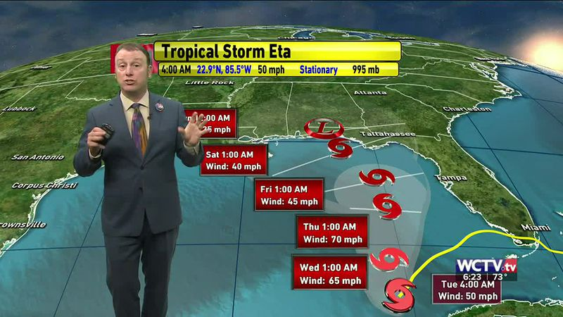 Meteorologist Rob Nucatola gives you the forecast for Tuesday, Nov. 10, 2020.