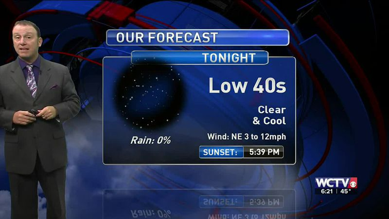 Meteorologist Rob Nucatola gives you the forecast for Wednesday, Nov. 18, 2020.