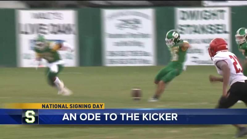 Suwannee High School kicker Braxtyn Green finds himself in a situation so many other kickers...