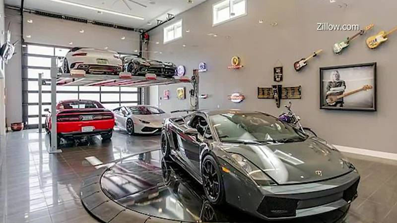 A $1 million property on a racetrack is more like a deluxe garage with bedrooms.