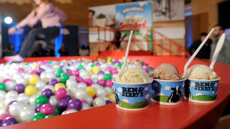 IMAGE DISTRIBUTED FOR BEN & JERRY'S - Ben & Jerry's launches new Cereal Splashback ice cream...