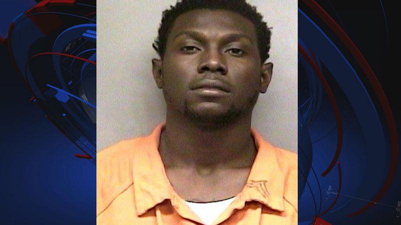 Damarcus King, 25, was arrested on one count of sex trafficking, one count of  lewd or...