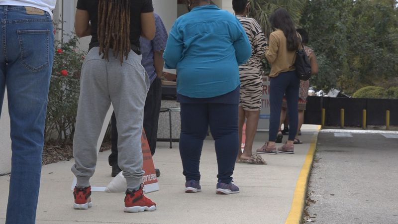 Monday was the first day of early voting in Leon County. There was an unprecedented turnout, as...
