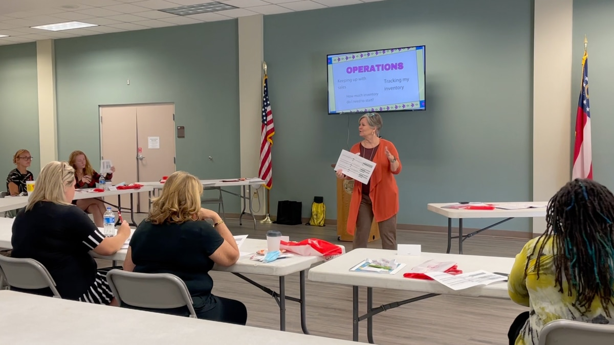 The Valdosta-Lowndes County Chamber of Commerce hosts business workshop.