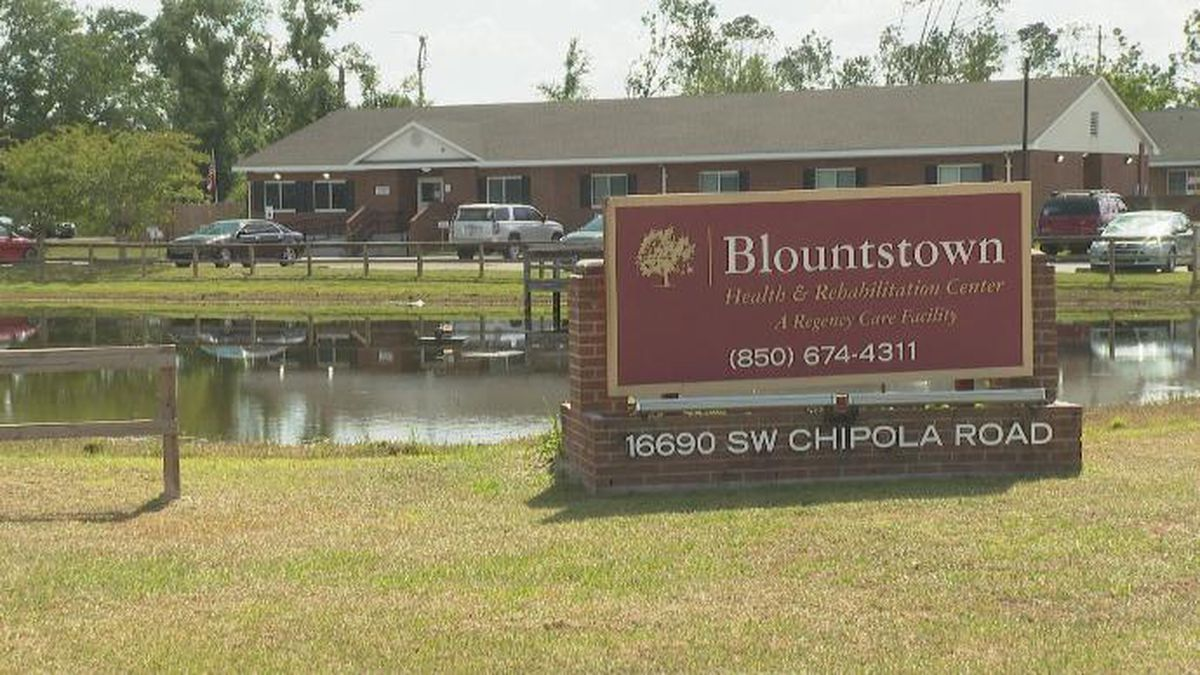 Blountstown Health and Rehabilitation Center is under a moratorium on admissions because of the facility's handling of COVID-19 cases. (Photo: WJHG)
