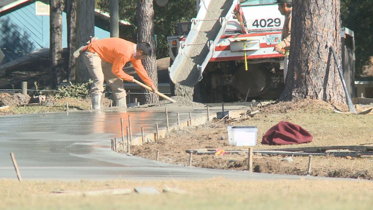 Jake Gaither Golf Course is currently undergoing renovations, with one of the key features...