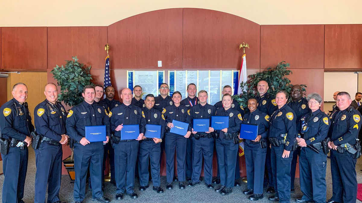 The Tallahassee Police Department welcomed 13 new recruits to the agency Wednesday.