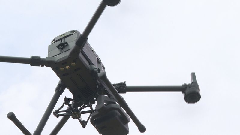 First responders from around the region have been taking to the sky to lear how to use drones...
