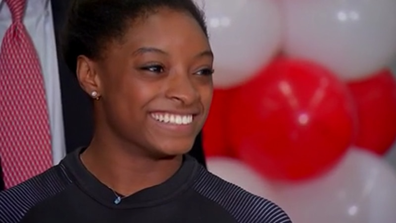 Simone Biles is considered by many the greatest gymnast of all time, but she's made unexpected...